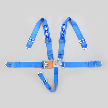 Blue 5 Point Harness for Racing Car, Racing Safety Seat Five Point